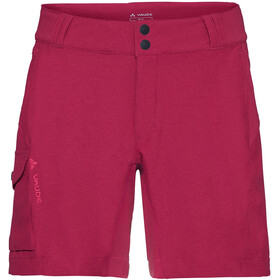 VAUDE Tremalzini Korte Broek Dames, crimson red